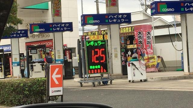 どんどん減っていくガソリンスタンド