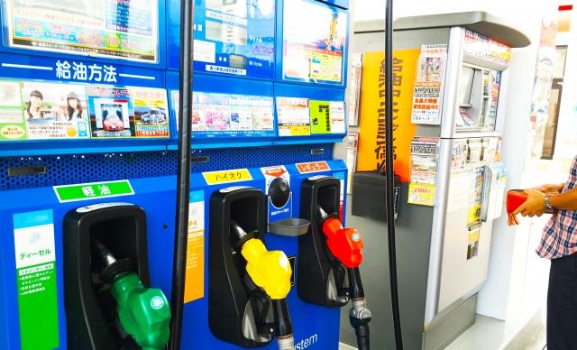 ガソリンの原価