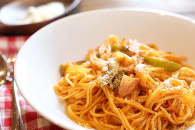 スパゲティナポリタンの原価